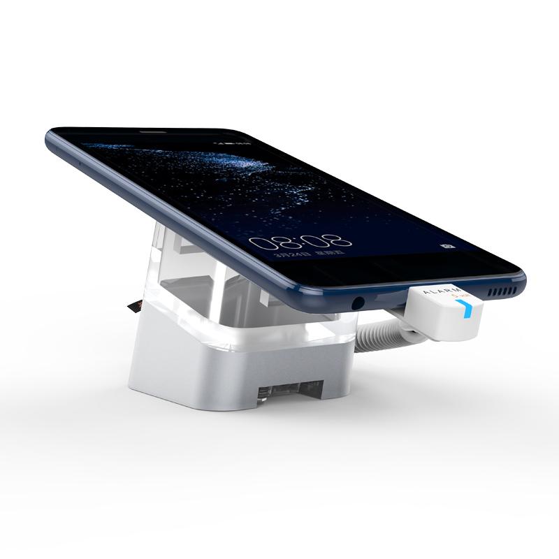 Soporte de seguridad de la pantalla del teléfono móvil con control remoto IR